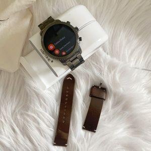 Fossil Gen 3 Smartwatch Q Explorist Smoke Watch